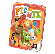 boardgames Picmix Games for family Gigamic
