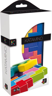 jeux de société Katamino Pocket Brain Games Gigamic