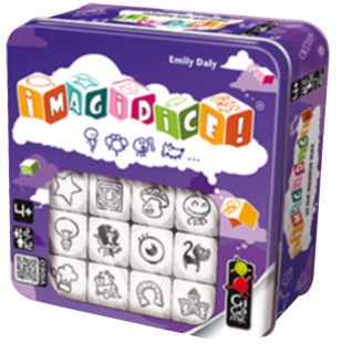Games for family Imagidice Gigamic boardgames