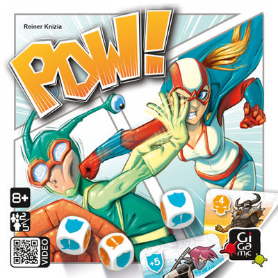 POW! by Reiner Knizia Party Games Gigamic