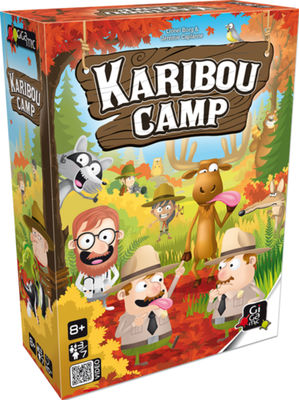 Karibou camp Games for fun Gigamic