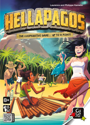 boardgames Hellapagos Party Games Gigamic