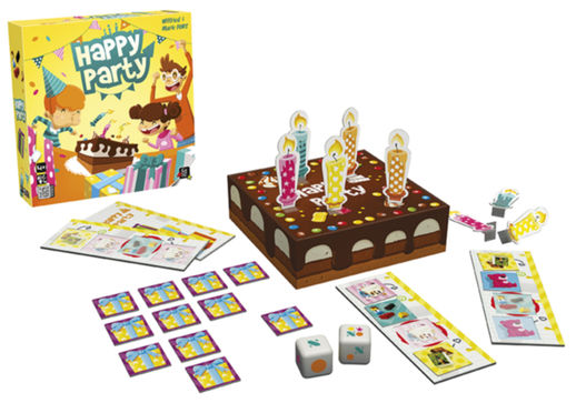 boardgames Happy Party Games for family Gigamic