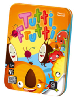 Games for family Tutti Frutti Gigamic boardgames