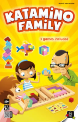 Puzzle Games Katamino Family Gigamic boardgames