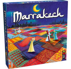 Strategy Marrakech Gigamic boardgames