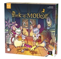 Peek-a-mouse box
