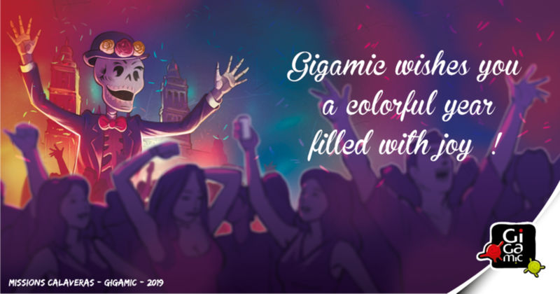 Gigamic wishes you a colorful year !